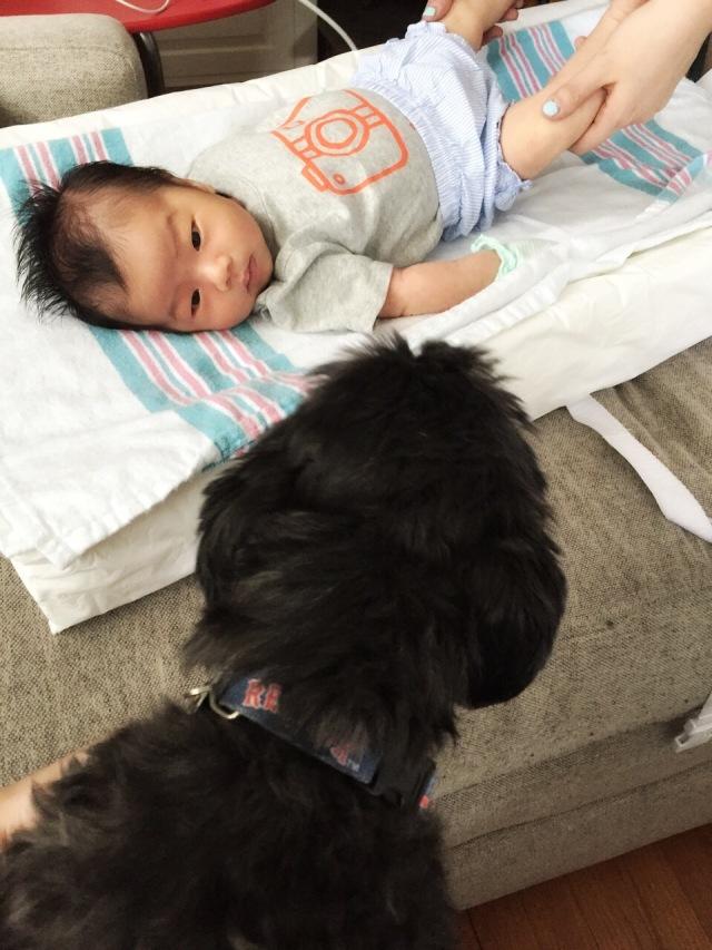 Winston with Olivia