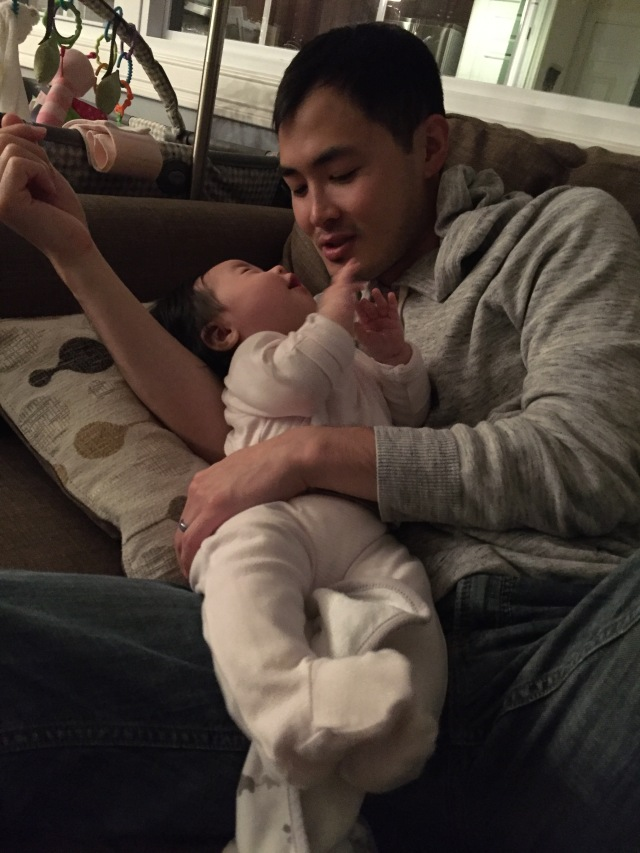 daddy & daughter time